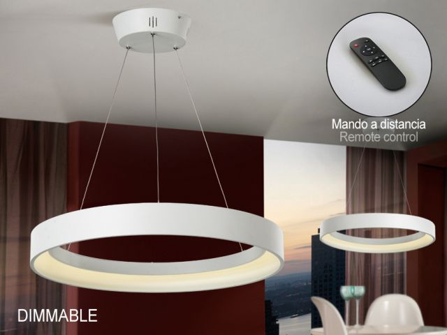 LAMPARA LED -CRONOS- BL DIMABLE REF:152499